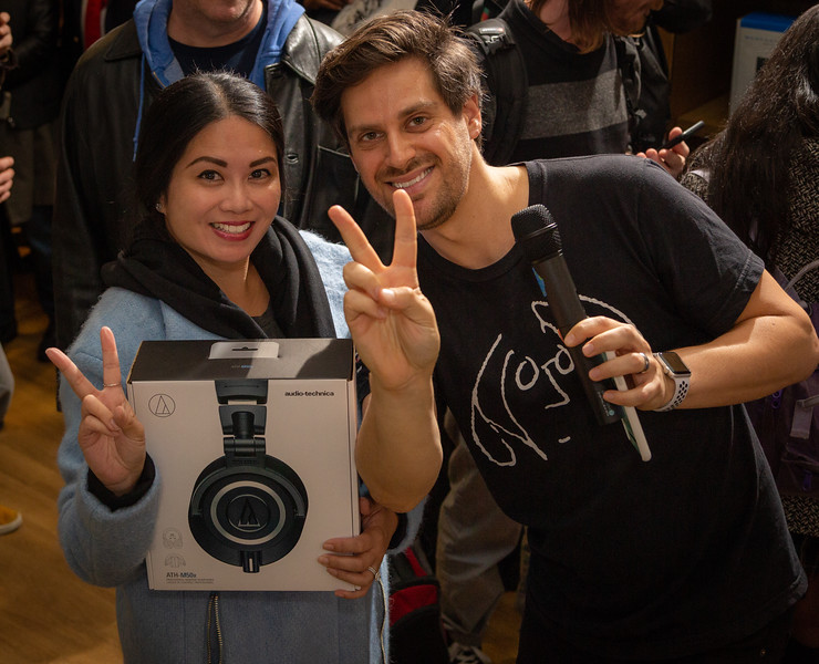 2018, Adorama, Audio-Technica, Matthew Reich, New York