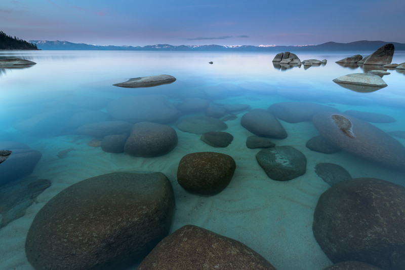 Lake Tahoe, Still Dawn Morning