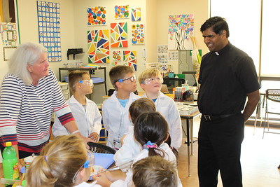 Fr. Rex & Fr. K - Kids Club Science Camp