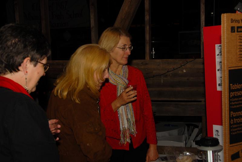 Elis Clark (Clarke), Jan Haney (Jaeger) and Ann Huckle (Mallek)