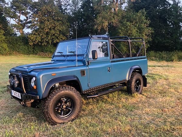 Satin Blue Beachcomber UK build