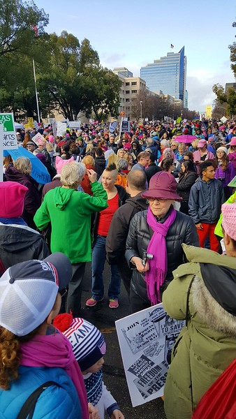 Women's March in Sacramento 2017