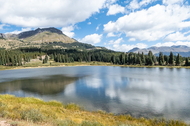 Little Molas Lake and Reflections