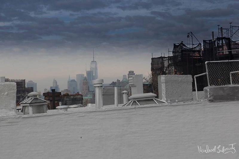 rooftop with skyline bw (1 of 1)