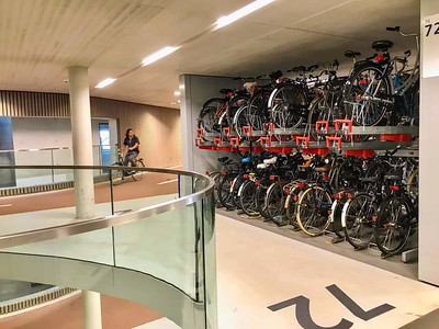 Bike parking infrastructure