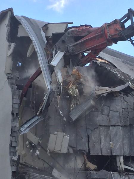 NPK M38G Material Processor rental on Deere excavator - commercial demolition Atlanta, GA (33).JPG