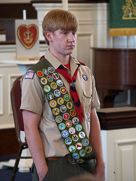 Trevor's Eagle Scout Court of Honor