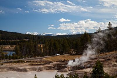 Yellowstone Mud Volcano