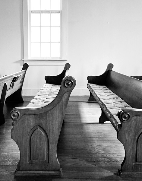 Church Pews Mississippi