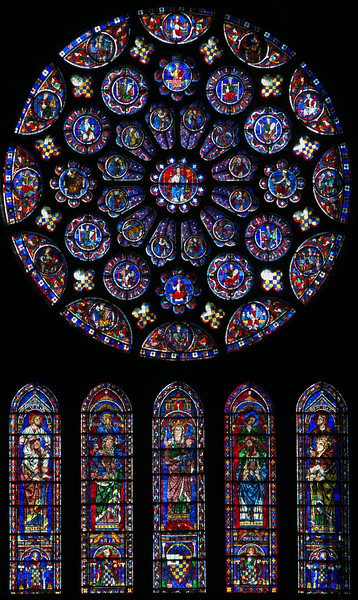 Chartres Cathedral South Rose Window