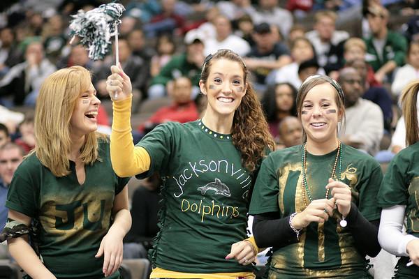 Basketball:  Jacksonville University vs. East Tennessee State - Fans