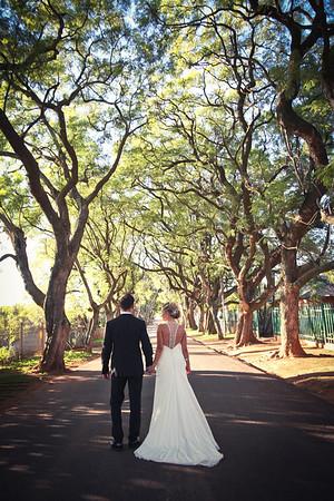 The Leighs' Wedding, Pretoria South Africa
