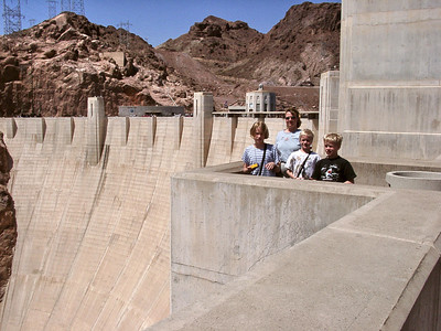 FamilyVacation-April 2000: Hoover Dam