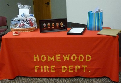 Harold Parker, Deputy Fire Chief, City of Homewood Retires