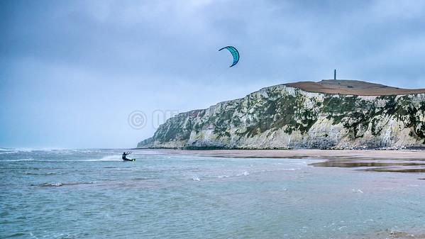 Kite à Escalles et St Po -Nicolas Gambier