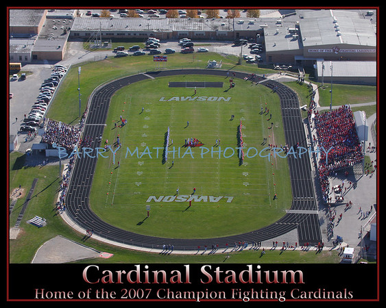 Cardinal Stadium Aerial Shot