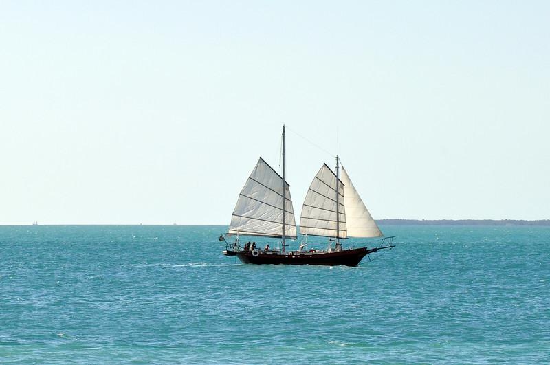 Seems like a long sail from China?