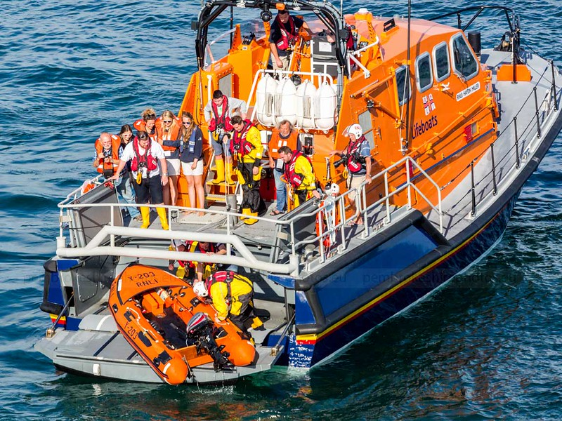 Tenby RNLI Open Day 2015