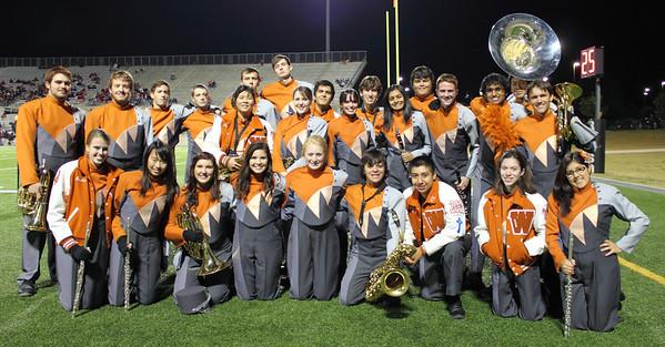 WWHS Band 2011-12 Leadership