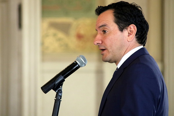 Sacramento Press Club luncheon with Anthony Rendon, CA Assembly Speaker 03 31 16
