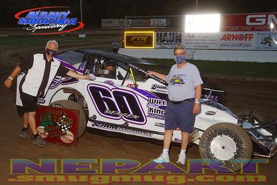 Albany-Saratoga Speedway - 7/31/20 - Mark Brown