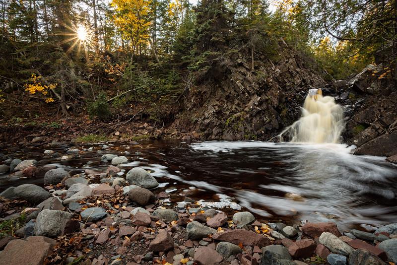 Fall River and Foliage