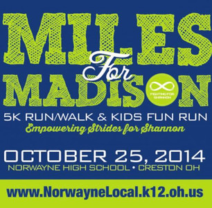 Miles for Madison 10/25/2014