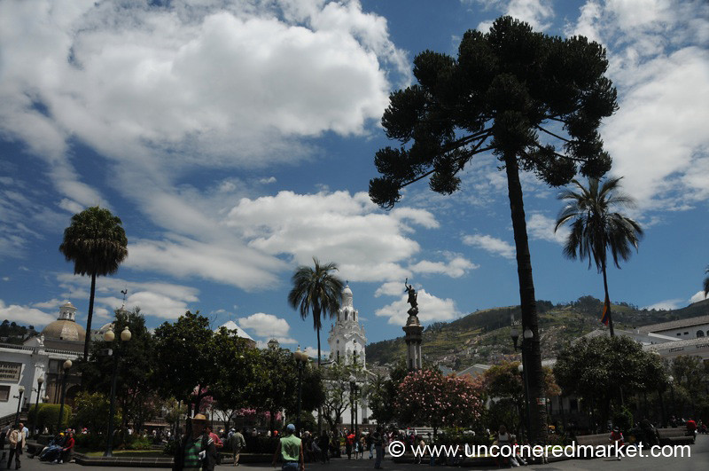 Plaza Grande in Quito, Ecuador