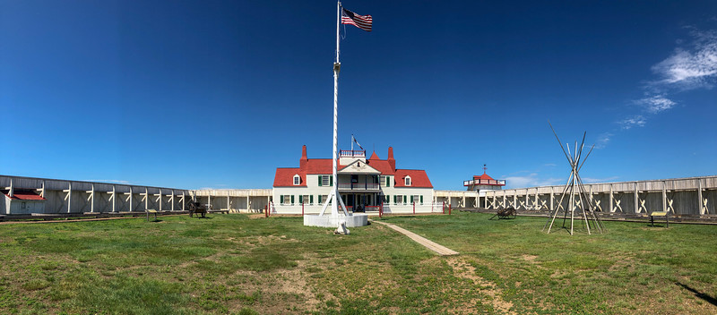 Fort Union Trading Post National Historic Site, ND (7-11-19)