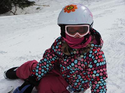 2011-02-04 Lila at ski school, Eldora