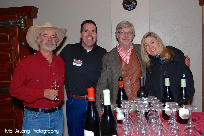 Dave Lambert, Dale Johnson, Terry Brookshire and Karen Johnson.jpg