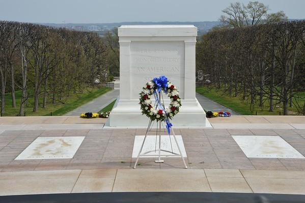 Arlington National Cemetery April