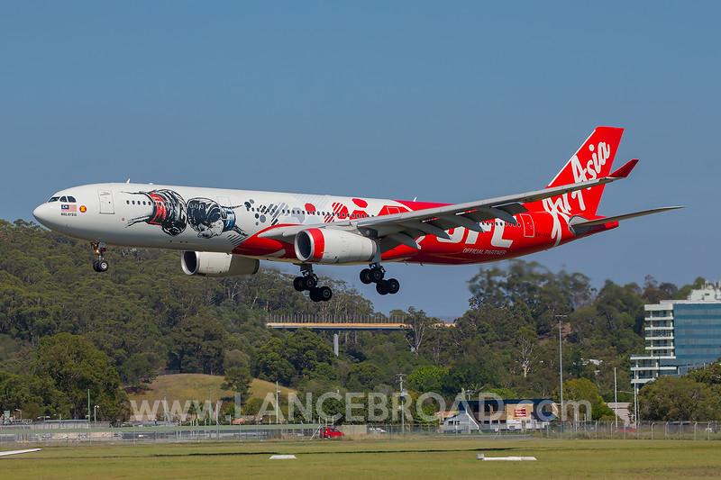 Air Asia X A330-300 - 9M-XXD - OOL