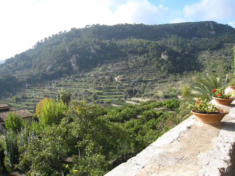 Valldemosa - View from Monastery