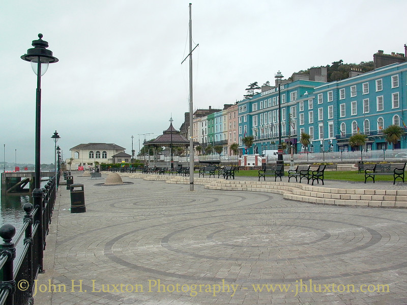 Kennedy Park and Commodore Hotel, Cóbh, County Cork, Eire - July 31, 2006