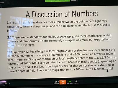Slides from workshop on Lenses