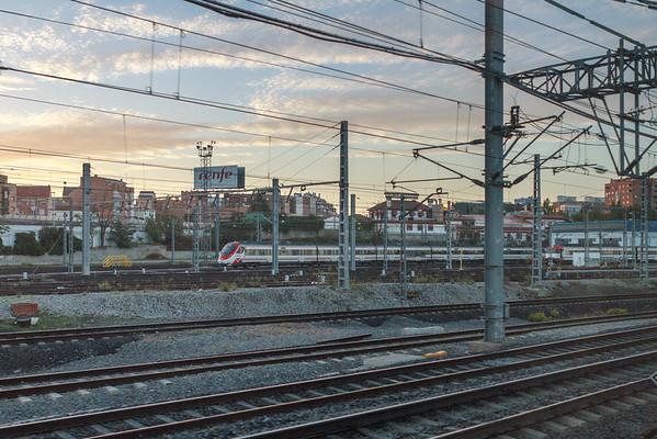 TrainRide-MadridToBarcelona