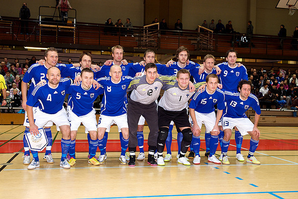 2010-12-14 Futsal: Finland-Ireland 8:2