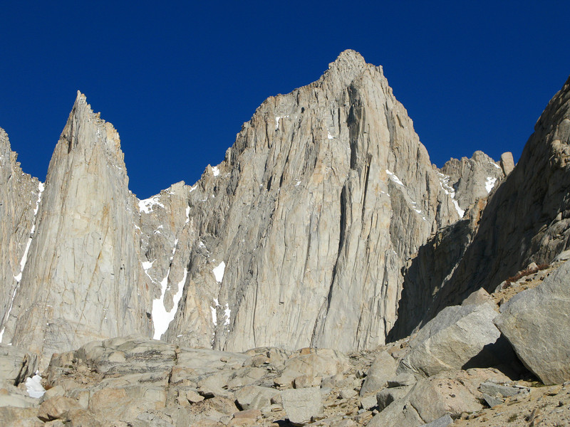 majestic view of Mt. Whitney