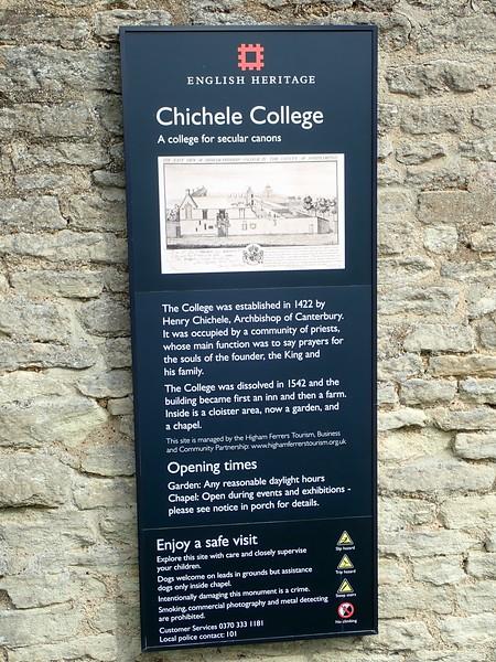 Chichele College 2020