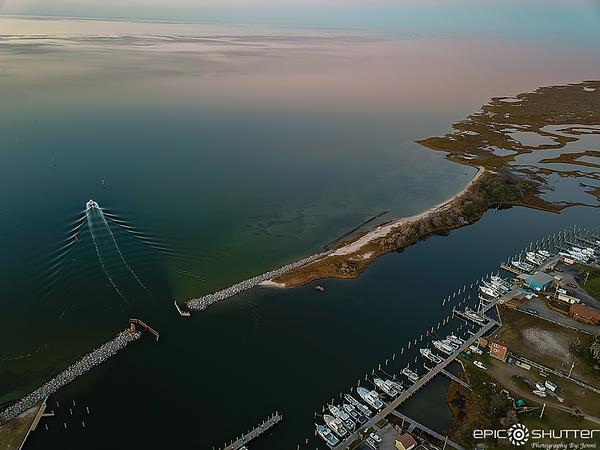 November 21, 2020 Aerial View of Hatteras Village