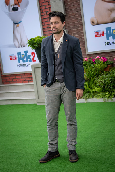 WESTWOOD, CALIFORNIA - JUNE 02: Brett Dalton attends the Premiere of Universal Pictures' 'The Secret Life Of Pets 2' at Regency Village Theatre on Sunday, June 02, 2019 in Westwood, California. (Photo by Tom Sorensen/Moovieboy Pictures)