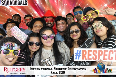 Rutgers Newark International Student Orientation 2019