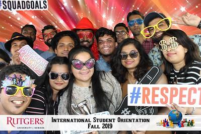 Rutgers Newark International Student Orientation 2019