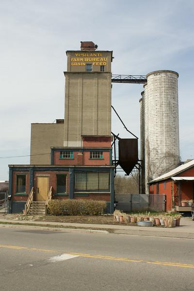 Ypsilanti grain silo