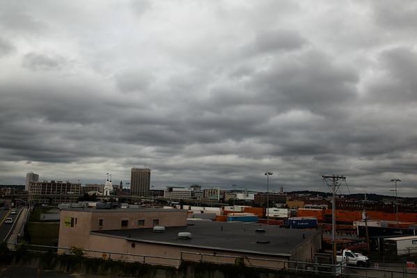 2014 Worcester skyline cloudy