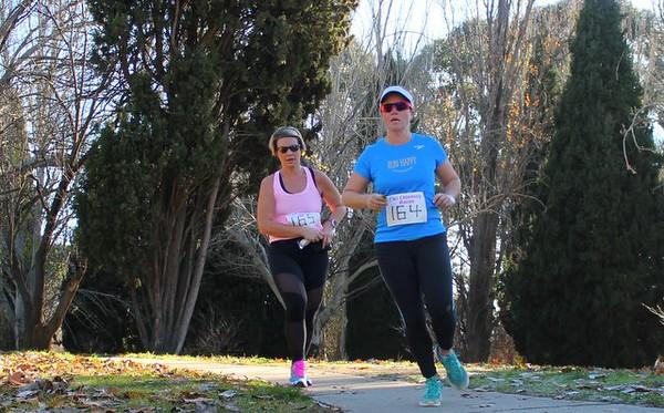Sri Chinmoy Half-Marathon, 5 Mile & 2 Mile runs, Telopea Park, Canberra, 13 June 2016
