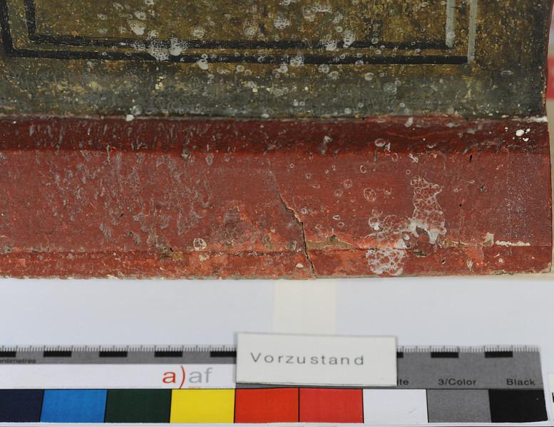 Vorzustand: Anna Altar, Predella, rechte Seite AAF_0993_27-10-2011