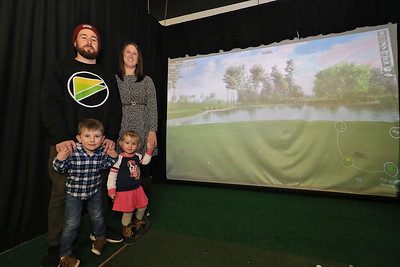 "New indoor Golf Facility ""Birdies"" in Fitchburg, January 11, 2019"