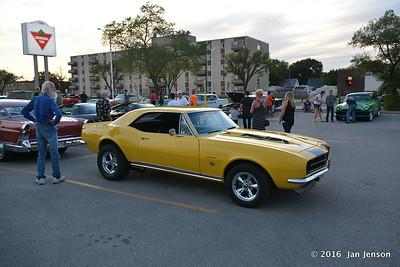 Classic car show in Winnipeg, Manitoba, Canada  8-7-16